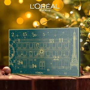 LOreal Paris 14 Rue Royal Advent Calendar