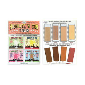 the Balm - Highlite N Con Tour Palette