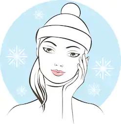 Hudpleie om vinteren | Tips til sunn og vakker hud om vinteren